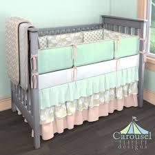 Mint Green Crib Bedding by Nursery Rhyme Baby Bedding Nursery Rhyme Sage 3 Piece Crib Bedding