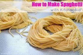Video} How to Make Spaghetti with KitchenAid