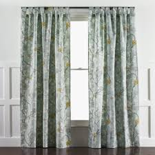 decor beige jc penney curtains with dark curtain rods and white