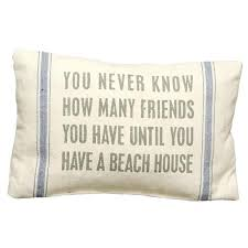 Lovely Beach Themed Throw Pillows And Linen Pillow With A Saying Product Material Elegant