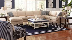 klaussner sectional sofa the southern shores sectional from