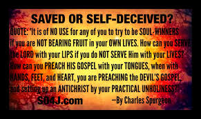 SAVED OR SELF DECEIVED JOHN MACARTHUR