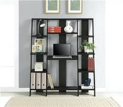 bookcase leaning desk and bookcase crate and barrel leaning