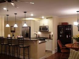 Rectangular White Wooden Wall Cabinets Kitchen Lighting Grey Islands Modern Led Lighitng Ideas Small Light Space