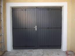 porte de garage traditionnelle bois gpf menuiseries du littoral