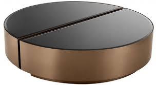 casa padrino luxus couchtisch set silber schwarz 2