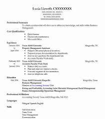 Property Management Assistant Resume Sample