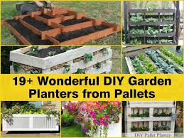 19 Wonderful DIY Garden Planters From Pallets