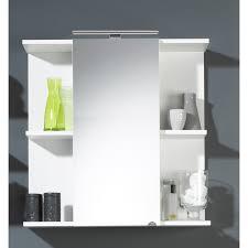 badezimmer spiegelschrank 1 türig weiss led beleuchtung