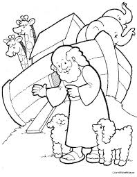 Noahs Ark Colorin Art Galleries In Noah Coloring Page