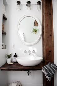 Diy Rustic Bathroom Vanity by Best 20 Vessel Sink Bathroom Ideas On Pinterest Vessel Sink