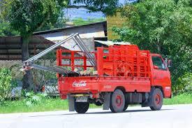 100 Coke Truck CHIANGMAI THAILAND AUGUST 22 2014 Coca Cola