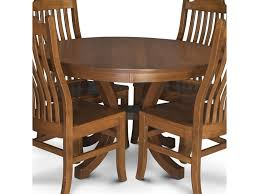 Loft Round Pedestal Table With 2 Leaves By Simply Amish At Becker Furniture  World Ding Room Kitchen Fniture Biltrite Of Milwaukee Wi Curries Fnituretraverse City Mi Franklin Amish Table 4 Chairs By Indiana At Walkers Daniels Millsdale Rectangular Wchester Solid Wood Belfort And Barstools Buckeye Arm Chair Pilgrim Gorgeous Elm Made Ding Room Set In Millers Door County 5piece Custom Leg Maple Lancaster With Tables Home Design Ideas Light Blue Old Farm Sawnbeam 5 X 3 Offwhite Painted With Matching