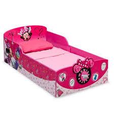 Delta Children Minnie Mouse Interactive Wood Toddler Bed Kids