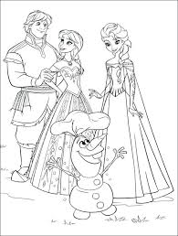 Printable Coloring Pages Frozen Free For Kids