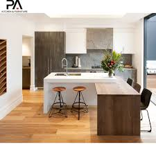 China Modern Simple Economical Wood Kitchen Cabinet Designs
