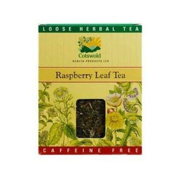 Cotswold Raspberry Leaf Tea - 100g, Pack of 10