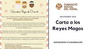 RECOGIDA DE CARTAS DE REYES MAGOS La Carlota