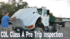 100 Truck Driving Schools In Ct CDL Class A Pre Trip Spection Pre Trip Spection In 10 Minutes