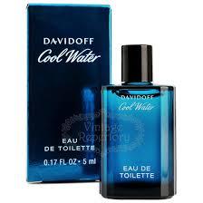 davidoff cool water mens eau de toilette davidoff perfume cool water eau de toilette miniature cologne