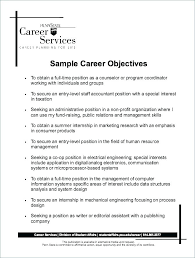 Examples Of Resumes For Retail Jobs Job Objective Samples Resume Work