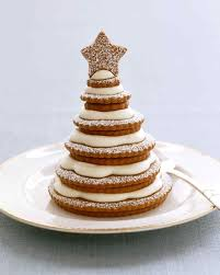 Christmas Tree Meringue Cake by 20 Years Of Living The Best Christmas Desserts Martha Stewart