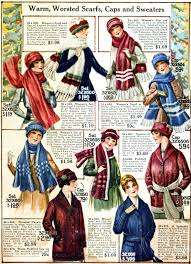 warm scarves caps and sweaters 1910s u2013 wearing history blog