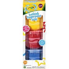 crayola bathtub fingerpaints soaps 3 count 12 fl oz walmart com