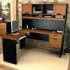 desk black sauder desk sauder harbor view computer desk in