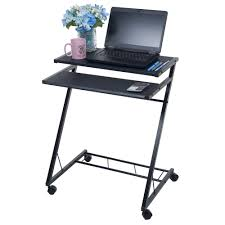 Student Lap Desk Walmart by Table Winning Mobile Rolling Cart Compact Computer Desk Walmart