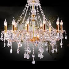 gold luxus mode led kristall kronleuchter beleuchtung für esszimmer wohnzimmer moderne kerze große kristall kronleuchter mit len