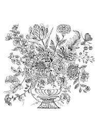 Vase Fleuri Et Oiseaux Carrelage Mural 1740 Fleurs Et Végétation