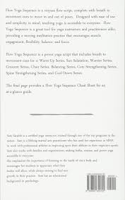 Flow Yoga Sequence Vinyasa Script Volume 1 Sam Sarahbi 9780692655702 Amazon Books