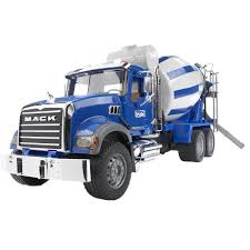 Cement Mixer (Mack) - Vehicle Toys By Bruder Trucks (02814 ...