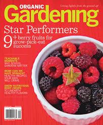 Inspired by Savannah Organic Gardening Magazine Takes the Garden