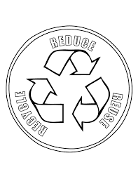 Recycling Coloring Pages Themed Kids