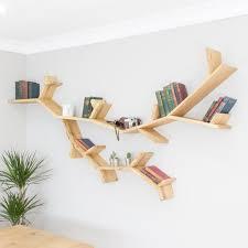 100 Tree Branch Bookshelves The Willow Shelf