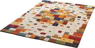 dekowe wollteppich elodie dekowe rechteckig höhe 13 mm handgetuftet bunt esszimmerteppiche teppiche nach räumen