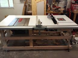 table saw and router table station woodworking pinterest