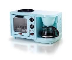 Amazon Elite Cuisine EBK 200BL Maxi Matic 3 In 1 Multifunction Breakfast Center Blue Kitchen Dining