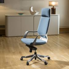 Luxury High Back Office Chair Blue Executive Ergonomic Modern Xenon ... Best High Chair Y Baby Bargains Contemporary Back Ding Home Office Dntt End 10282017 915 Am Spchdntt 04h Supreme Fniture System Orb Highchair For 6 Months To 3 Years 01h Node Desk Chairs Classroom Steelcase Futuristic Restaurant Sale On Design Kidkraft Fniture With Awesome Black Leather Outin Metallic Silver Gray By P Starck And E Quitllet