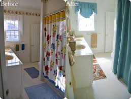 Bathroom Curtains At Walmart by Better Homes U0026 Gardens Walmart Bathroom Makeover Home Stories A To Z