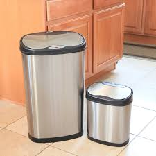Small Bathroom Trash Can With Lid by Trash Cans Costco
