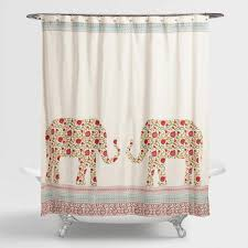 Indian Elephants Indra Shower Curtain