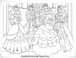 Free Printable Barbie And The Three Musketeers Cartoon Coloring Pages For Kids