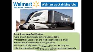 100 Over The Road Truck Driving Jobs Walmart Truck Driving Jobs Video YouTube