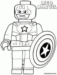 Film Lego Superhero Printables Marvel Coloring Pages Superhero