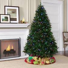 Slim Christmas Trees Prelit by Slim Prelit Christmas Tree Ebay