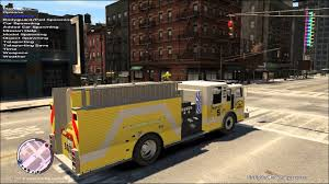 100 Gta 4 Trucks GTA IV FDLC Fire Fighter Mod YELLOW FIRE TRUCK YouTube