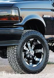 100 20 Inch Truck Rims 1996 Ford Bronco In Magazine